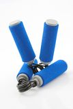 Sports gear. Hand strengthening equipment Royalty Free Stock Images