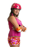 Sports girl Royalty Free Stock Photo