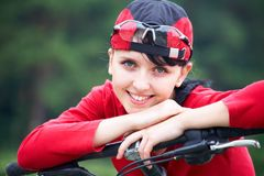 Sports girl Royalty Free Stock Images