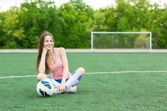 Sports girl Royalty Free Stock Photos