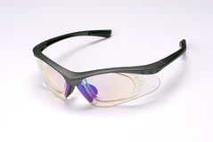 Sports glasses. Sports style glasses in a white background Royalty Free Stock Photo
