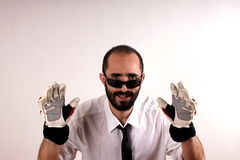 Sports gloves Stock Images