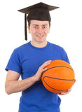 Sports graduate Royalty Free Stock Photos