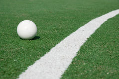 Sports-ground for hockey Royalty Free Stock Images