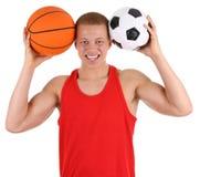 Sports guy Stock Photo