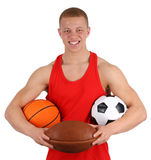 Sports guy Stock Photos