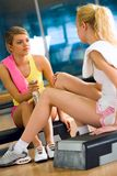 In the sports gym Royalty Free Stock Photo