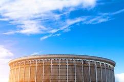 Sports hall arena stadium architecture sky clouds Stock Photos
