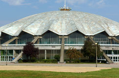 Sports hall in Poznan Stock Photography
