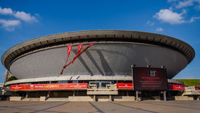 Sports hall Spodek Arena Royalty Free Stock Image