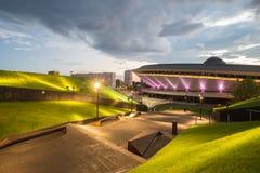 Sports hall Spodek in Katowice, Poland Stock Photography