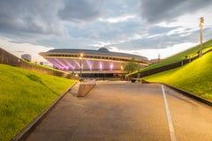 Sports hall Spodek in Katowice, Poland Royalty Free Stock Images