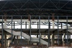 Sports hall under construction Royalty Free Stock Photos