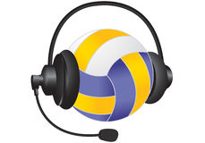 Sports headphones Royalty Free Stock Photos