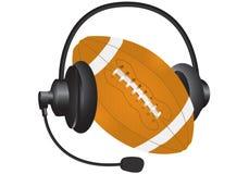 Sports headphones Royalty Free Stock Photo