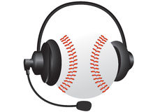 Sports headphones Stock Images