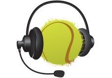 Sports headphones Stock Photography