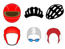 Sports Headwear 1 Royalty Free Stock Photos
