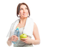 Sports and healthy eating Stock Photo