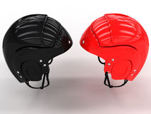 Sports helmets of different. #2 Royalty Free Stock Image