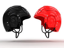 Sports helmets of different colors #3 Royalty Free Stock Image