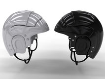 Sports helmets of different colors #6 Royalty Free Stock Image