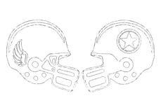 Sports helmets Royalty Free Stock Photography