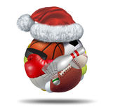 Sports Holiday Gift Royalty Free Stock Images