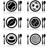 Sports hunger Royalty Free Stock Image