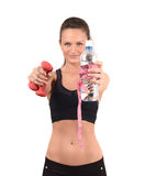 Sports and hydration. Stock Photos