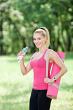 Sports and hydration Royalty Free Stock Photo