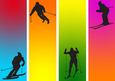 Sports in ice Stock Image