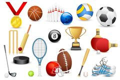 Sports Icon Royalty Free Stock Photography