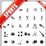 Sports Icon Royalty Free Stock Image