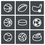 Sports Icon collection Stock Photo