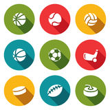 Sports Icon collection Stock Images