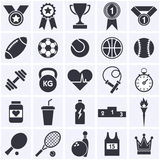 Sports icon collection. Stock Photos