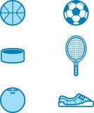 Sports Icon Designs Stock Image