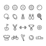sports icon set. Vector illustration decorative design