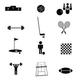 Sports icon vector illustration Stock Photography