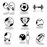 Sports icons 1 Stock Images