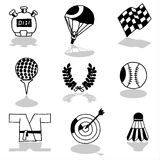 Sports icons 2 Royalty Free Stock Images