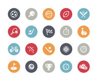Sports Icons // Classics. Vector icons set for your web or presentation projects Royalty Free Stock Photography