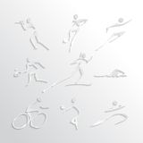 Sports Icons Collection Royalty Free Stock Image