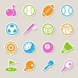 Sports Icons set. Royalty Free Stock Photos