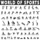 Sports icons Stock Image