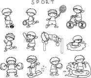 Sports icons,vector Royalty Free Stock Photography