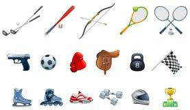 Sports Ikonen stock abbildung