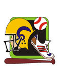 Sports illustration Stock Photo