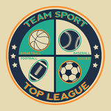 Sports infographics banners. Royalty Free Stock Image